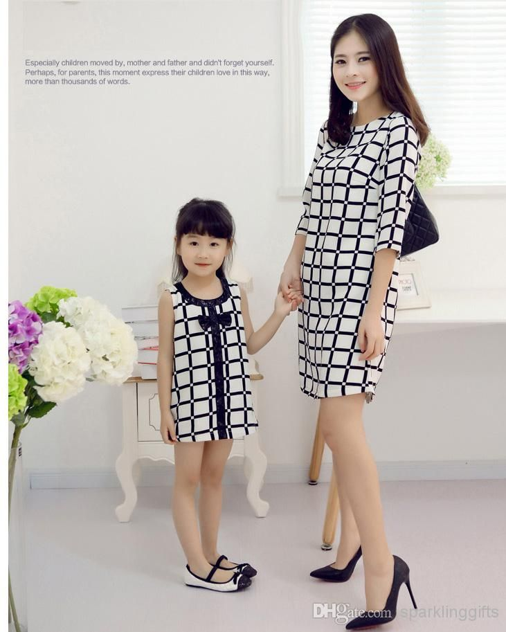 wholesale mother daughter matching  buy frete gratis