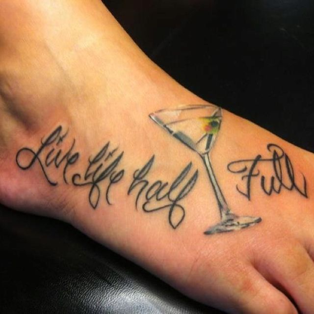 Pin by local legends art on tattoos pinterest desert for Small cocktail tattoos