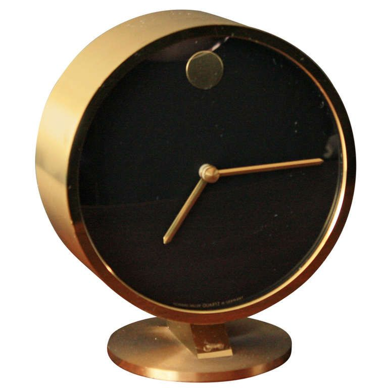 Vintage Mid-Century George Nelson Desk Clock | George nelson and ...