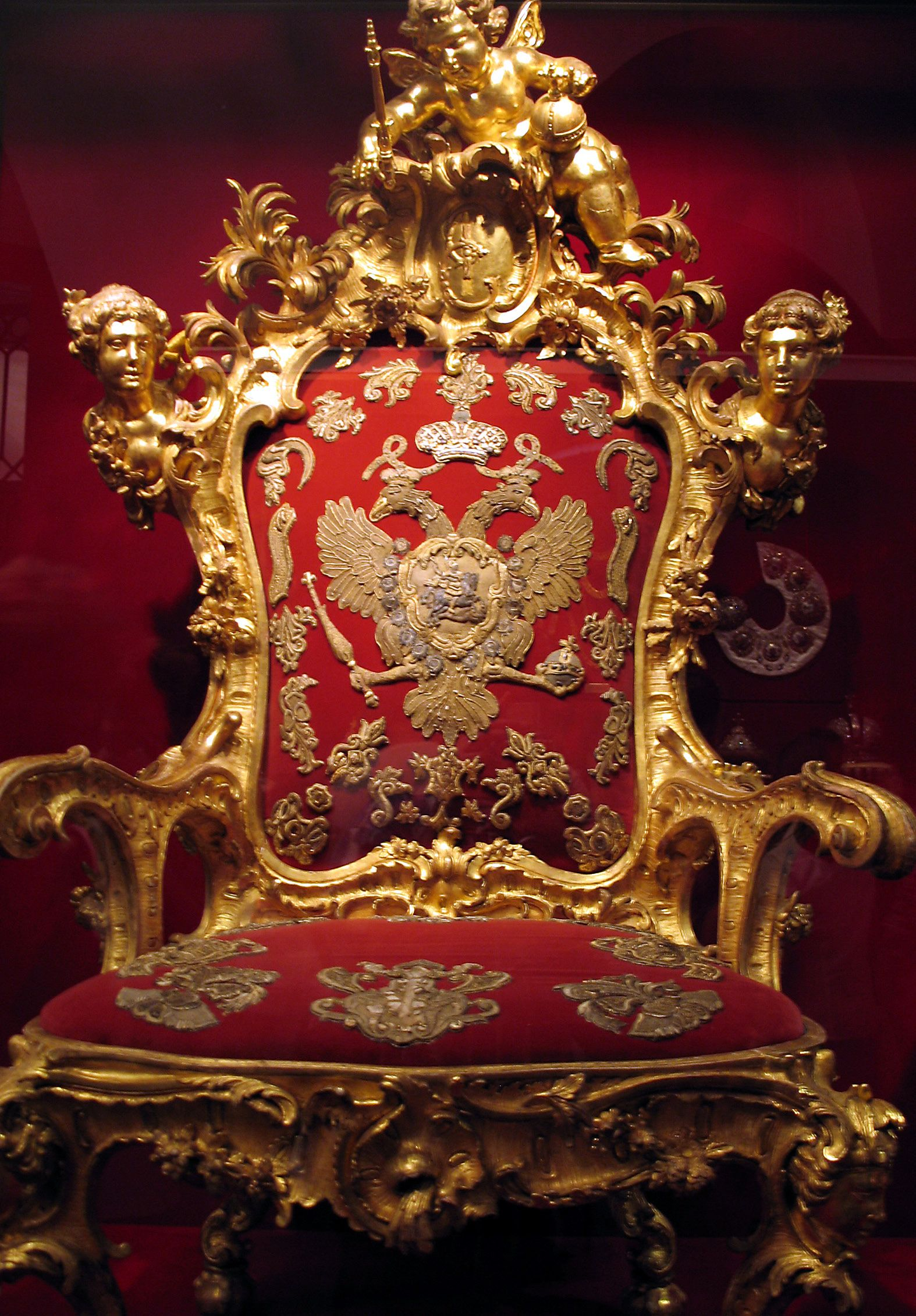 Black Velvet Throne Chair Glides For Hardwood Floors Imperial Russian Romanov Romanovs