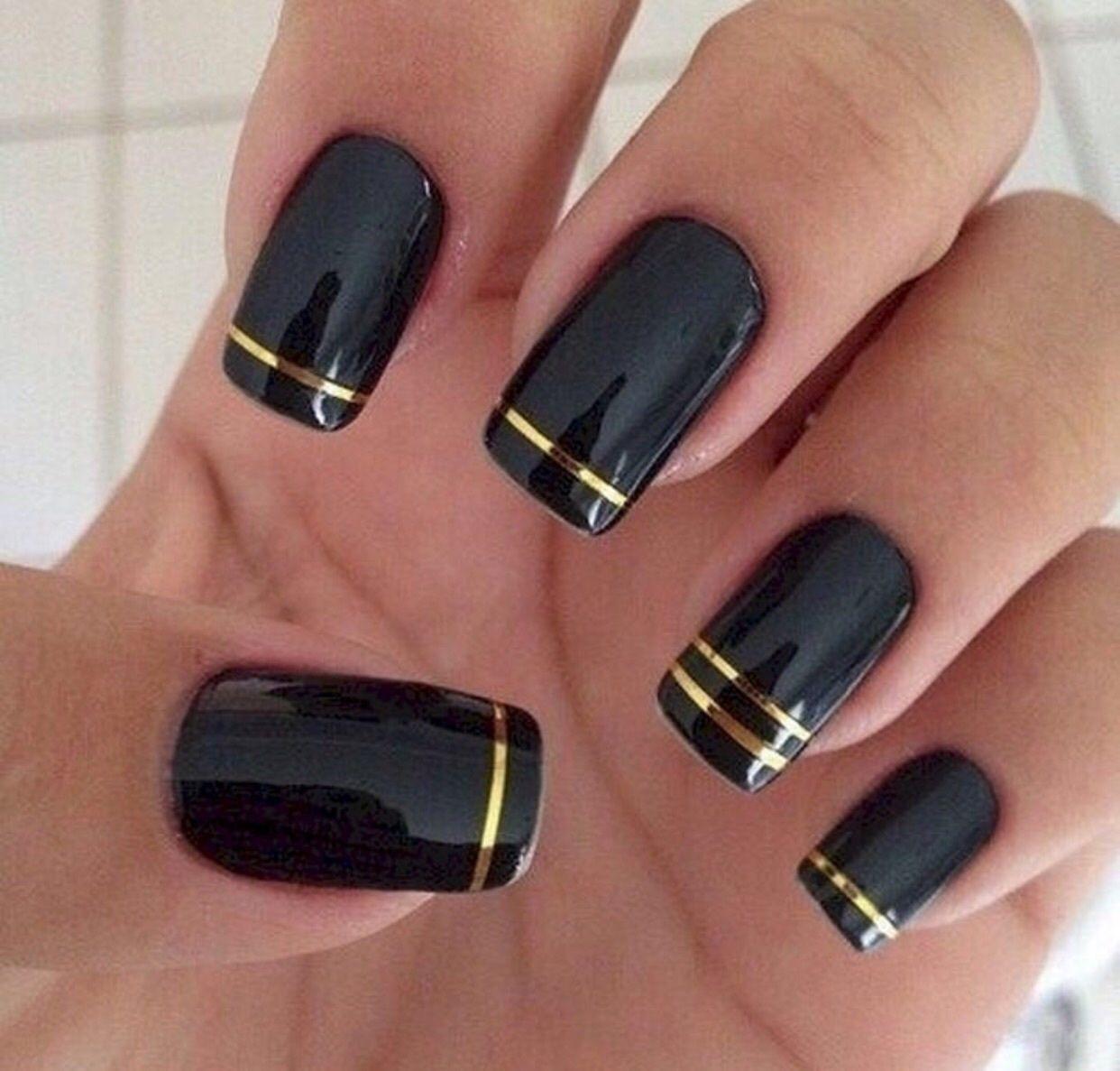 Unghii Negre 2018 Unghii în 2019 Nails Black Acrylic Nails și