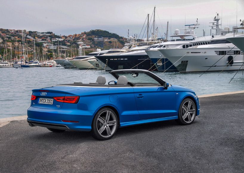 The Audi A3 Cabriolet Fascinates With New Lightweight Design Audi A3 Cabriolet A3 Cabriolet Audi A3