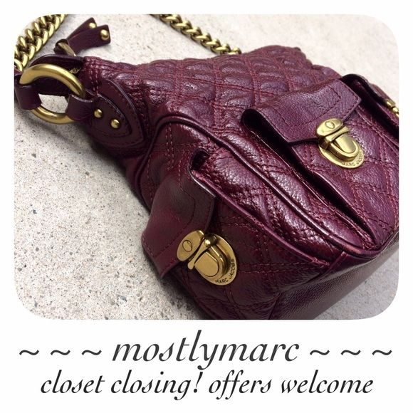 Marc Jacobs Icy Bordeaux Multipocket 2/2 See other post.  ✅ OFFERS  SHIPS FAST    CLOSET TEMPORARILY CLOSING BY MAY - MAKE AN OFFER NOW!   instagram: mostlymarc Marc Jacobs Bags Shoulder Bags