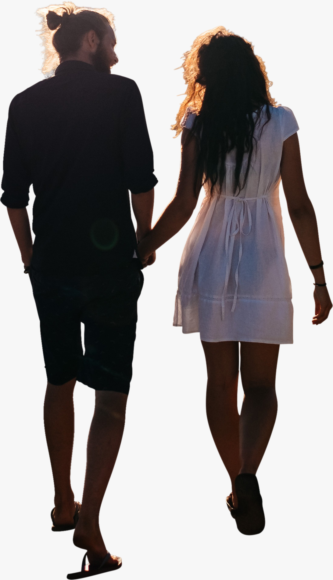 Couple Walking Png Poses Casual
