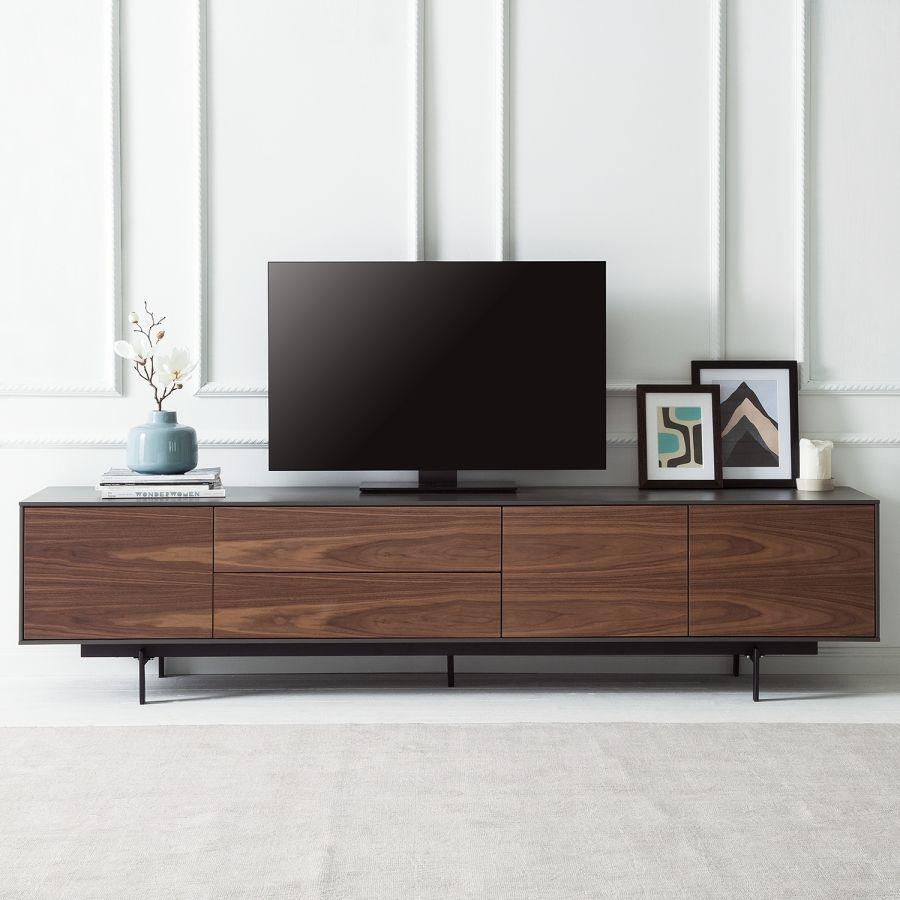 Exquisit Lowboard Fernseher Dekoration Von Tv-lowboard Payara - S / Schwarz