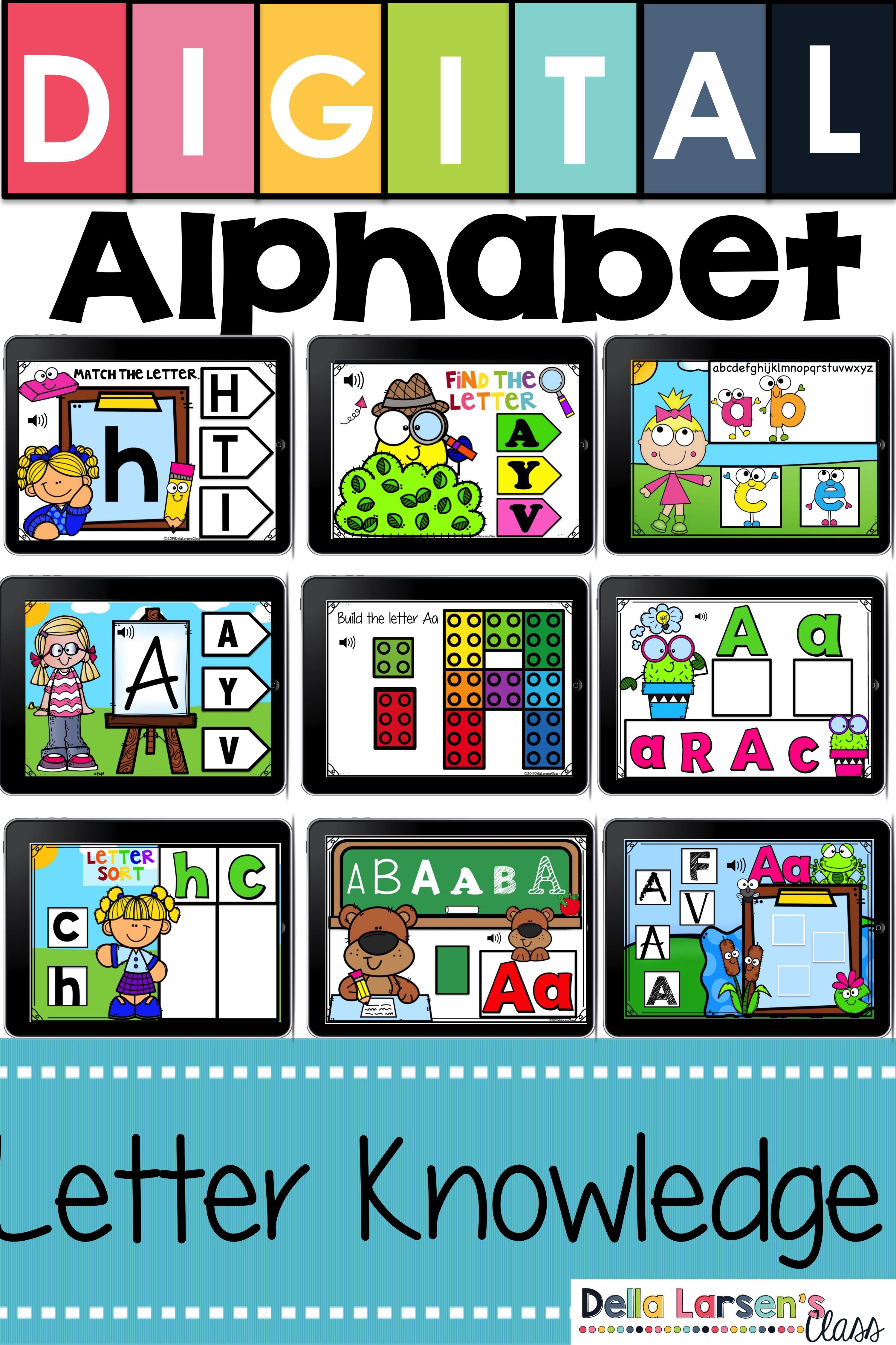 Boom Cards Alphabet Bundle Distance Learning