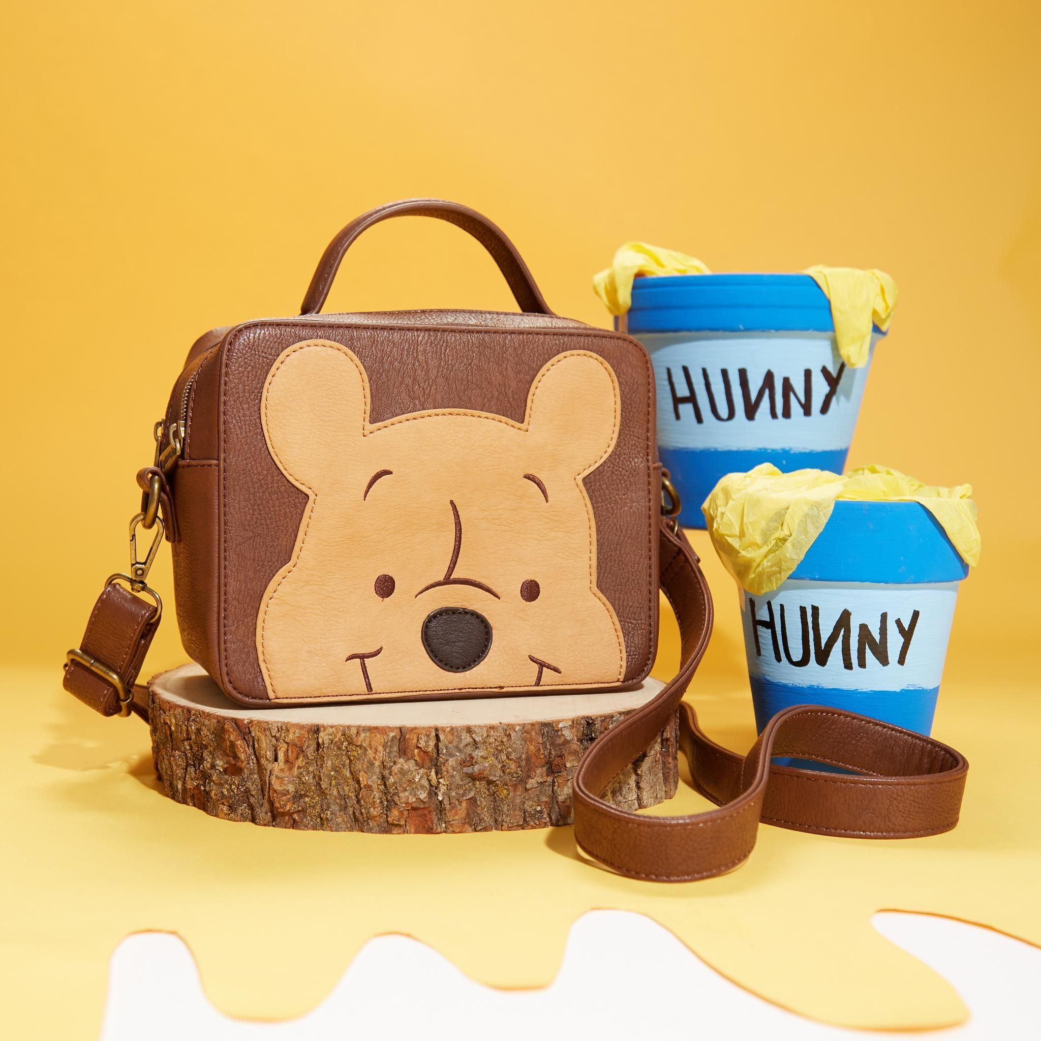 96bbc0f8dee Loungefly Disney Winnie The Pooh Crossbody Bag - BoxLunch Exclusive ...