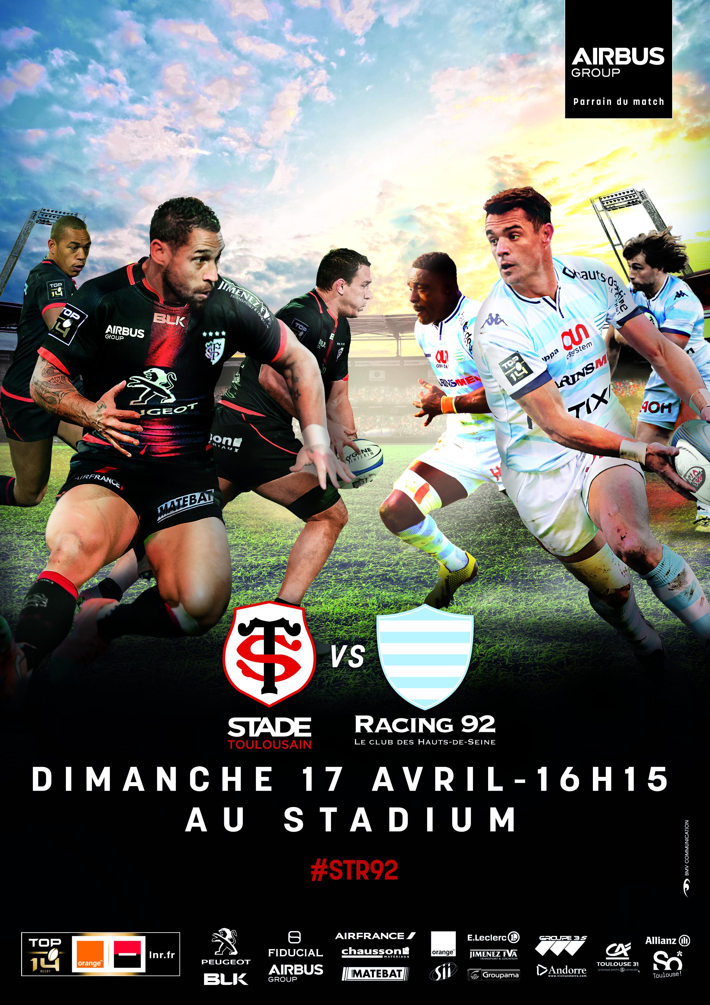 #STR92 Pour nous retrouver au Stadium, c'est par ici : https://billetterie.stadetoulousain.fr/
