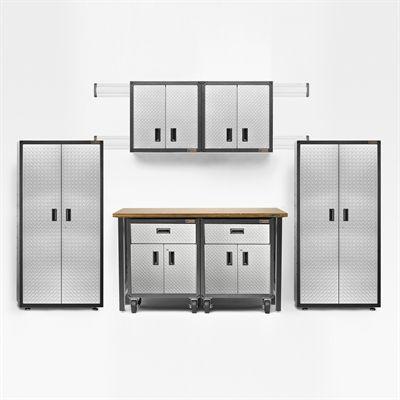 Gladiator 15 Piece Ready To Emble Garage Cabinet Set