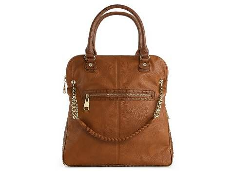 6c4acf48a2 Steve Madden BMaxie Ostrich Convertible Tote | DSW It can be carried as a  tote, a shoulder bag and a crossbody style. LOVE it. Rich brown.