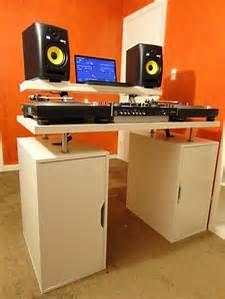 Diy Dj Table Flush Bing Images Dj Table Dj Booth Home Studio Music