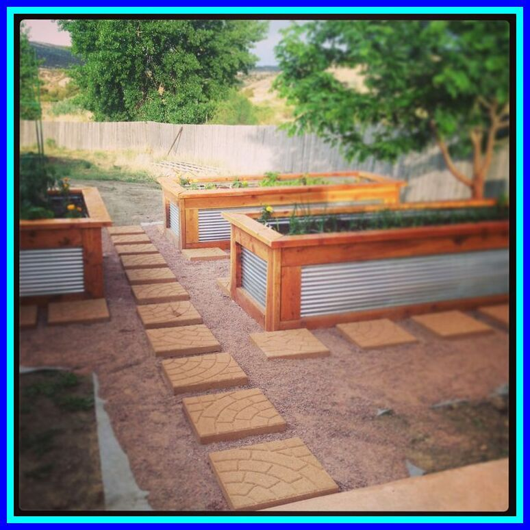 42 Reference Of Raised Garden Beds Metal Roofing In 2020 Diy Raised Garden Metal Raised Garden Beds Metal Garden Beds