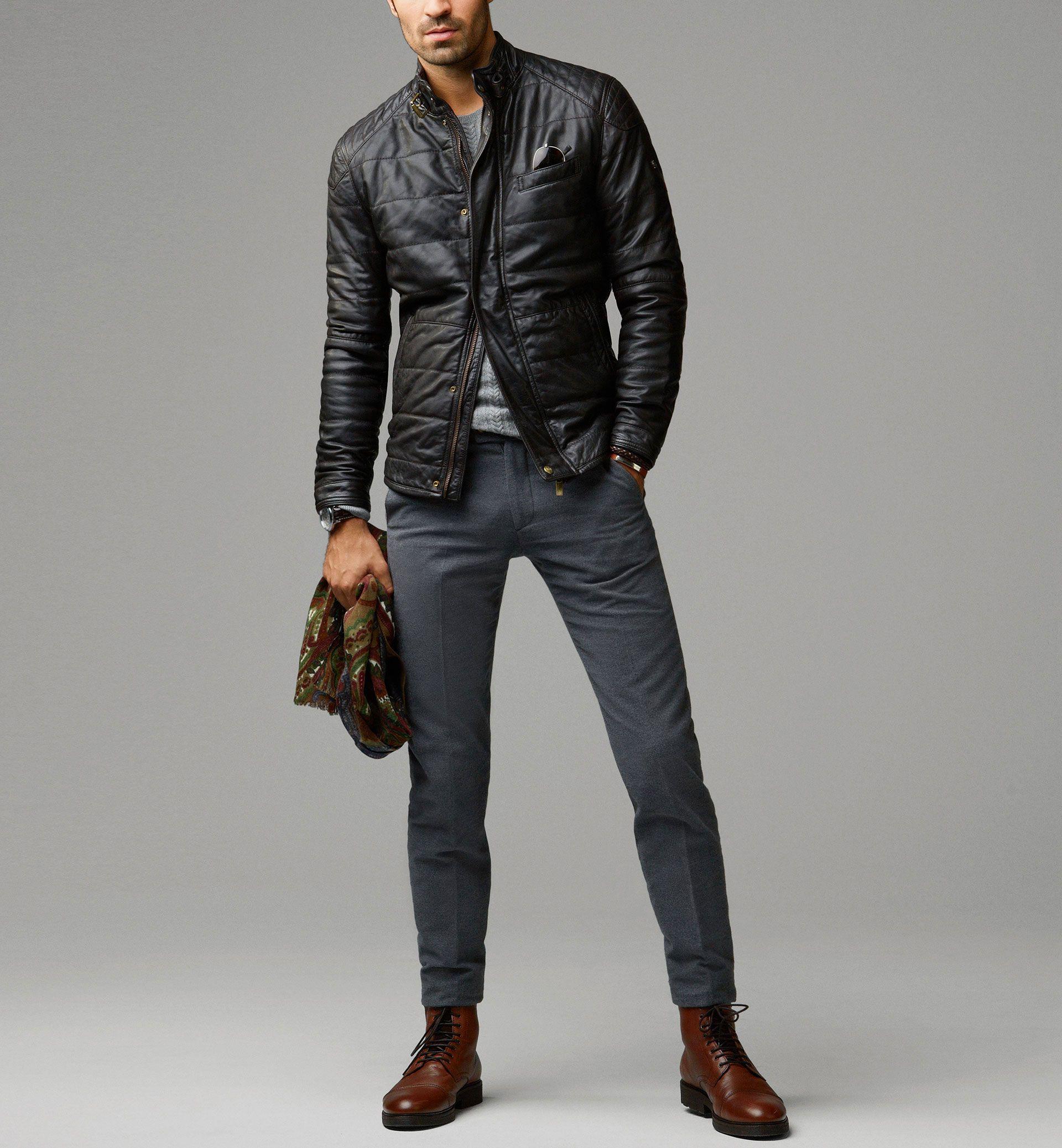 Massimo Dutti Nappa Leather Jacket Leather Jacket Men Leather Jacket Men Style Mens Fashion Casual [ 2074 x 1920 Pixel ]