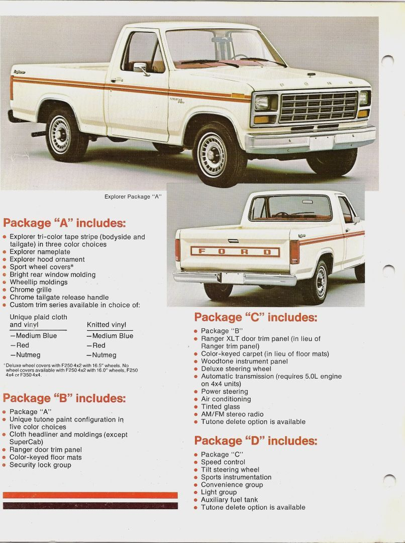 1980 1981 Explorer Postcards Ford Truck Enthusiasts Forums In 2020 Ford Pickup Ford Trucks Ford Truck