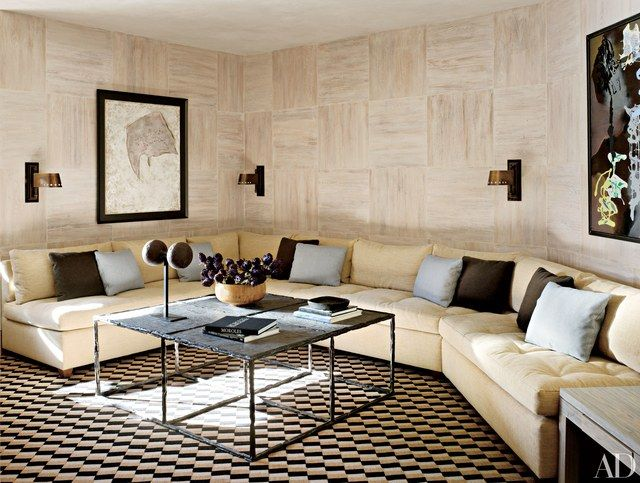Living Room Design With Sectional Sofa New 21 Sectional Sofas That Make The Room  Manuel Canovas Aspen Design Decoration