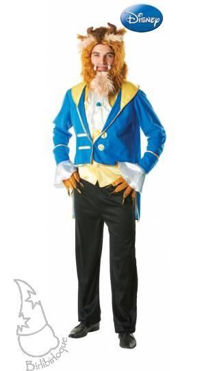 Disfraz de Bestia de Disney. Personaje principal masculino de la película  La Bella y la Bestia. ¿te atreves a transformarte  5c7aba7eab9