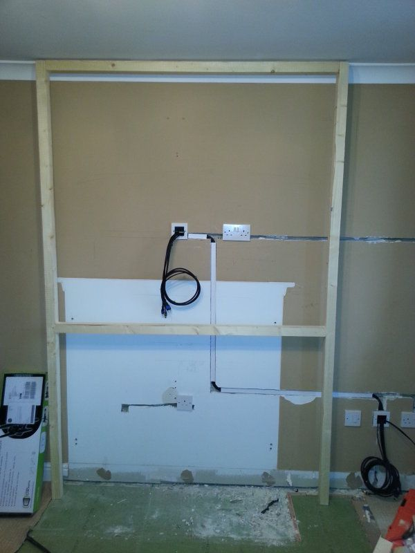 false chimney breast electric fire - Google Search | Basements ...