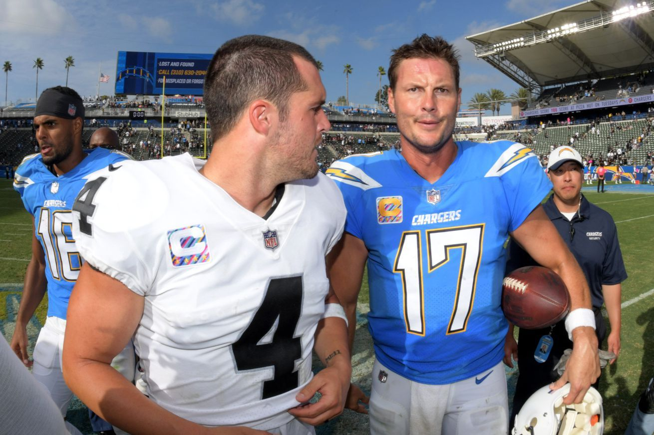 Chargers vs. Raiders Thursday Night Football open thread