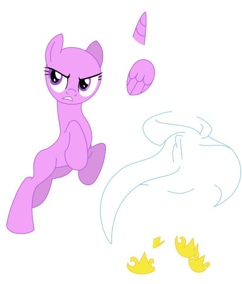 my little pony base | My Little Pony [Base 5] by MLP-Disaster
