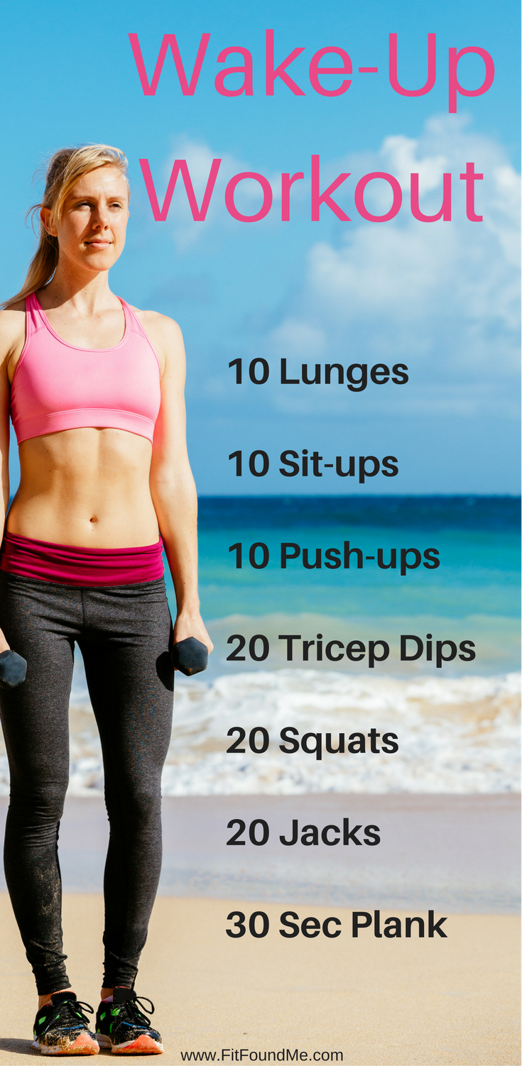 Metabolism Boost Wake Up Workout Bootybootybooty Wake Up Workout