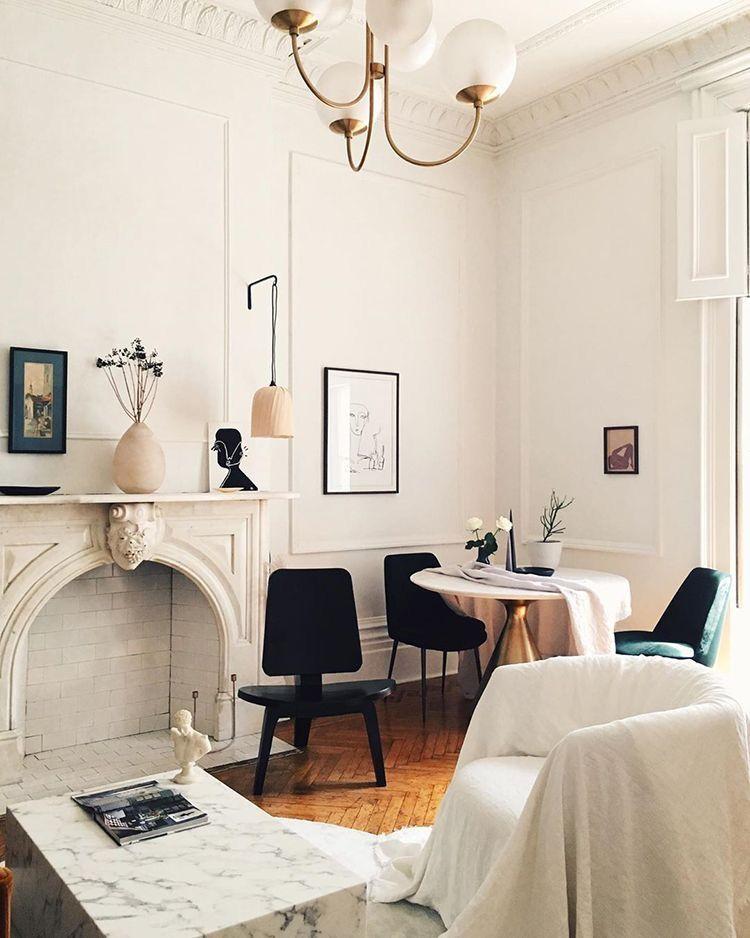 parisian style  parisian living room parisian interior