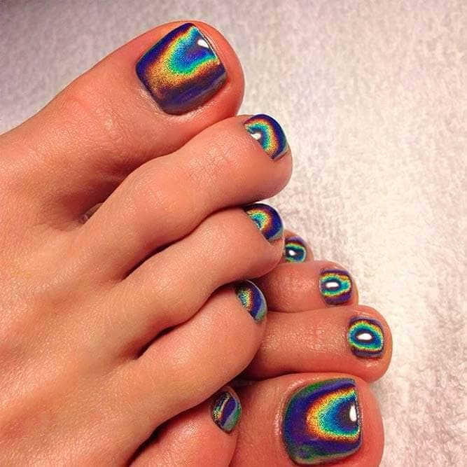 toe nail design in 2019