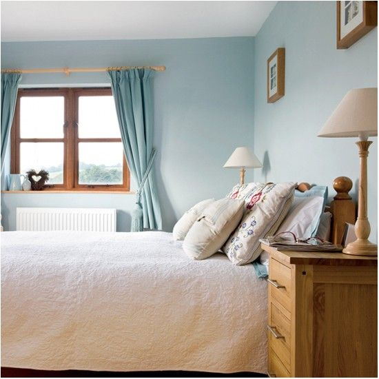Country cottage  Simple BedroomsBeautiful BedroomsLight Blue. Country cottage   Cottage house  Bedroom country and House tours