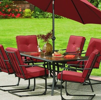 Shared From Flipp: Mission Ridge 7 Piece Dining Set In The Kroger Flyer