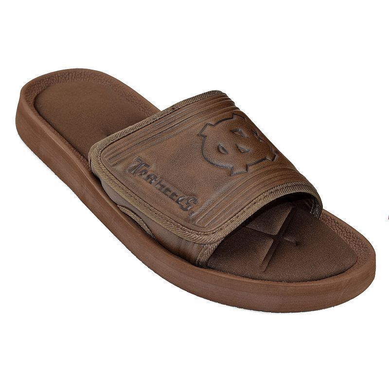 Adult North Carolina Tar Heels ... Memory Foam Slide Sandals