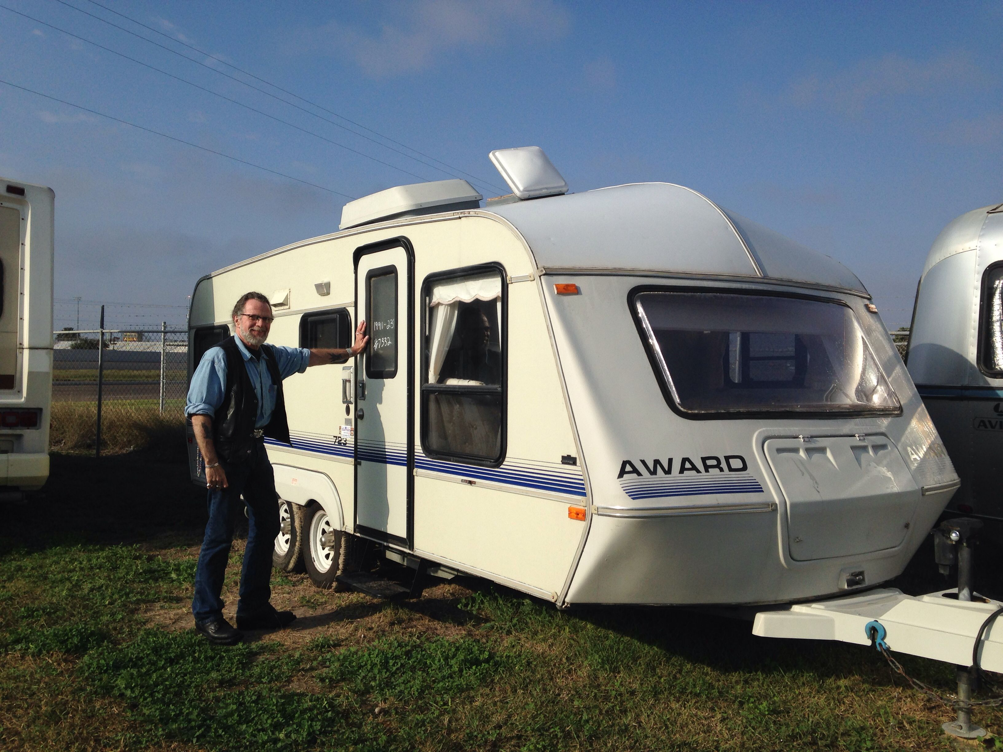 """1991 Award 723 Travel Trailer """"Before"""" 