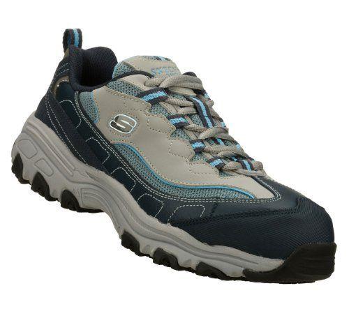 ffc5a14f0b962 Skechers Work D Lites SR Service Slip Resistant Safety Toe Sneakers Wide  Width Skechers.  74.99