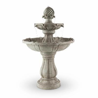 Blumfeldt Springbrunnen fontaine à oiseaux 60x90cm 3W batterie ...
