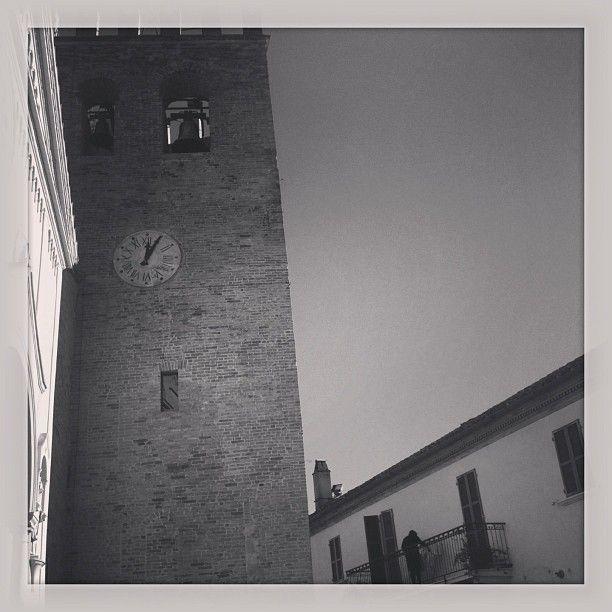 La Torre in bianco e nero #terredelpiceno
