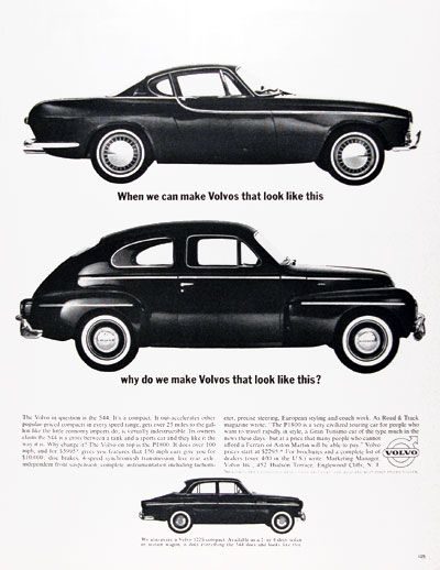 The Volvo Evolution A Really Interesting Old Volvo Car Ad Showing - Interesting old cars
