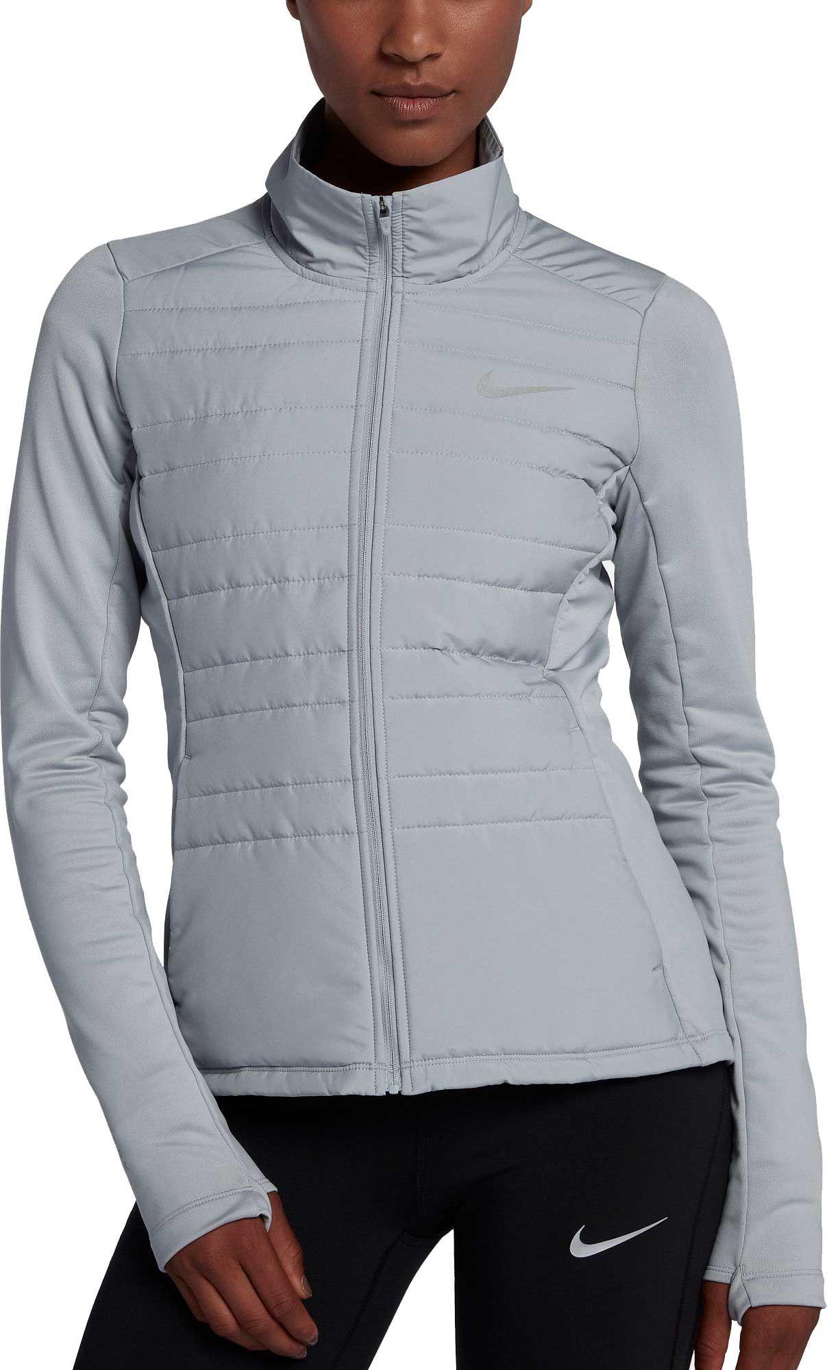 58e562e9caac Nike Women s Essential Full Zip Running Jacket