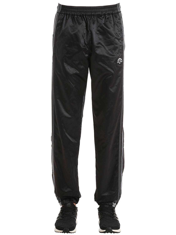 ADIDAS ORIGINALS BY ALEXANDER WANG NYLON SATIN TEAR AWAY TRACK PANTS.   adidasoriginalsbyalexanderwang  cloth   7e2242f1689d6