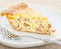 Recette de Quiche lorraine minceur au fromage blanc 0%