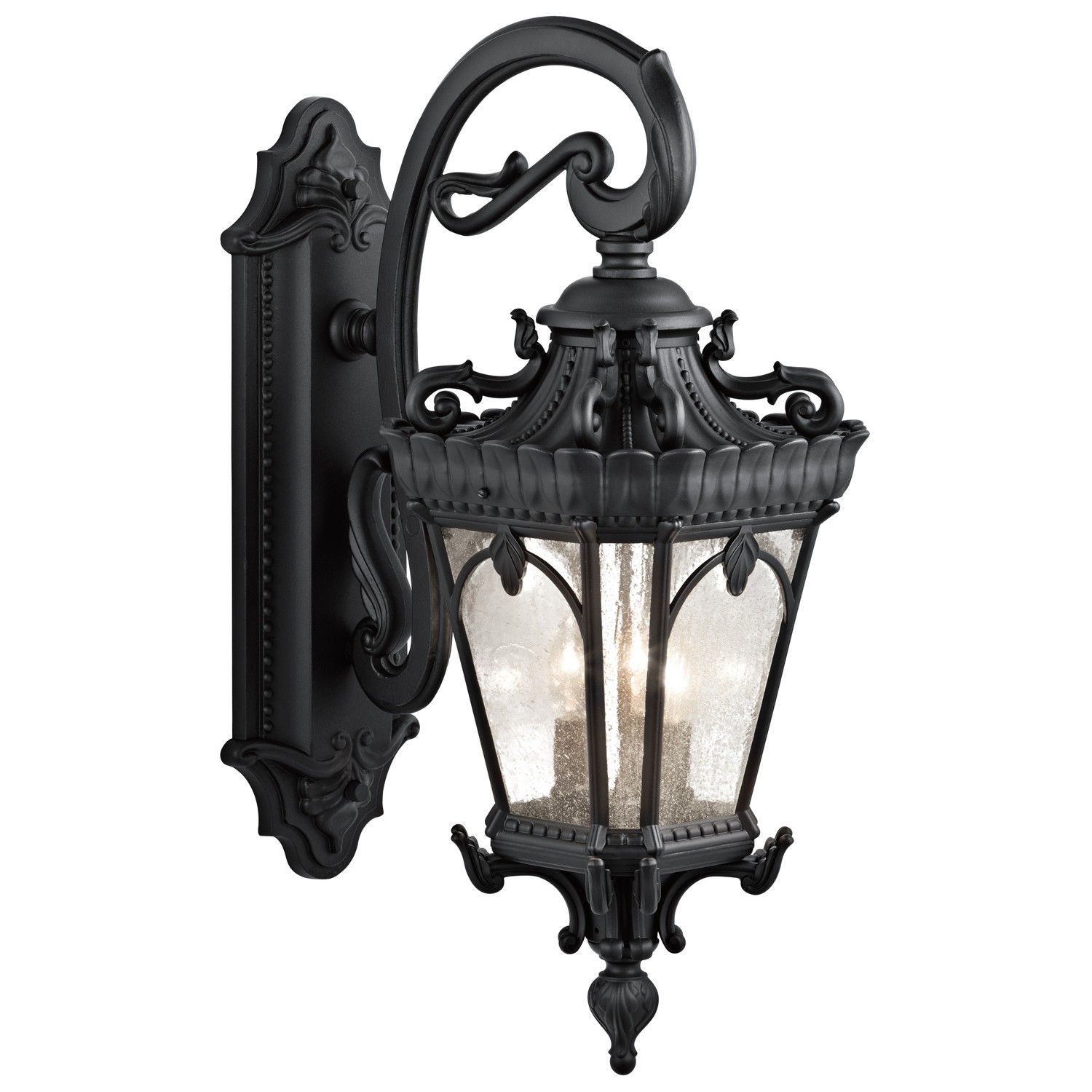 Kichler bkt light black outdoor wall lights lighting