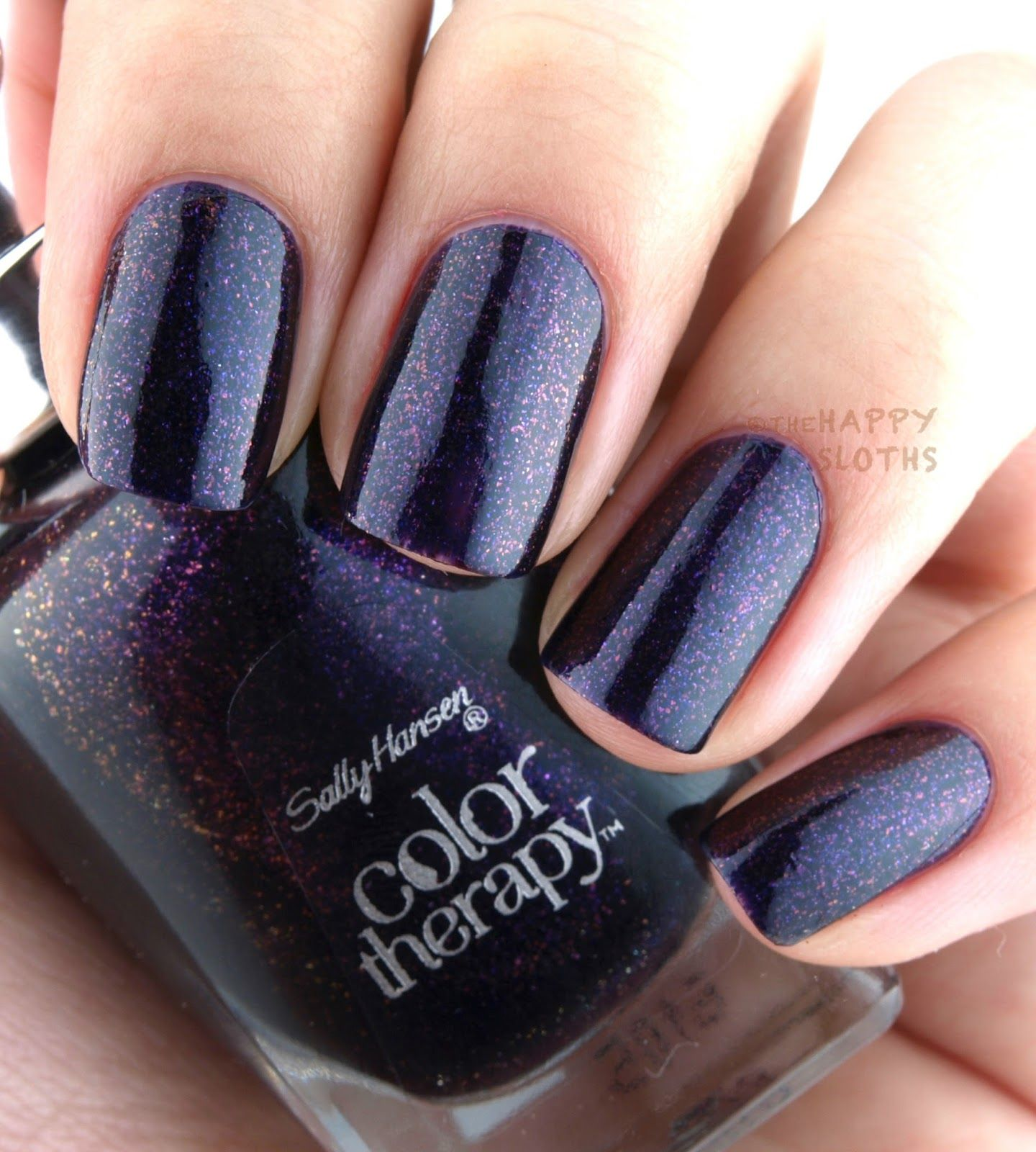 Sally Hansen Color Therapy Nail Polish: Review And
