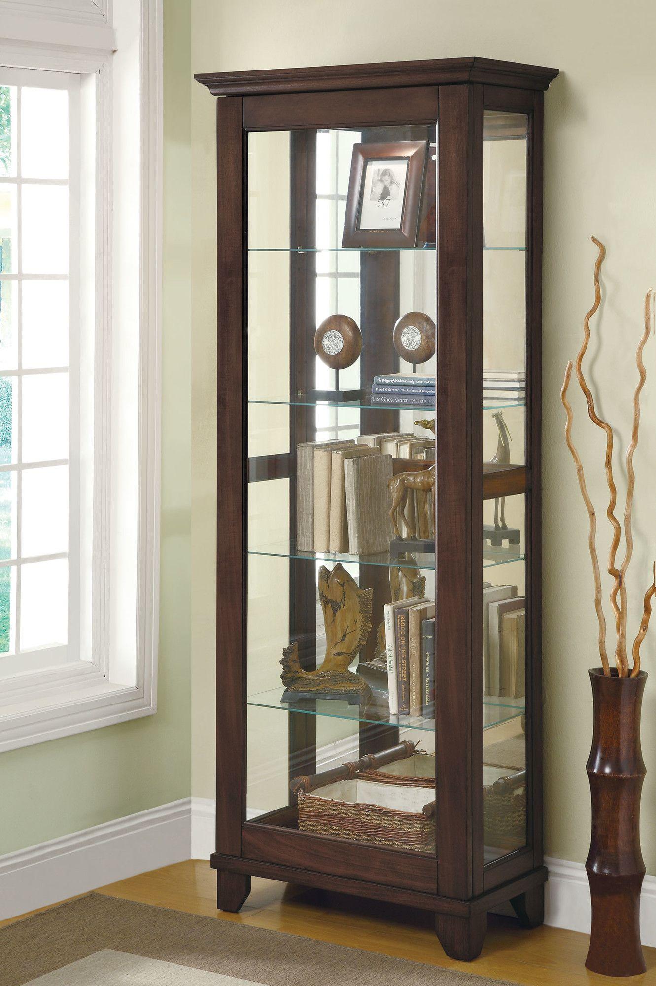 Wildon Home ® Curio Cabinet | Wayfair