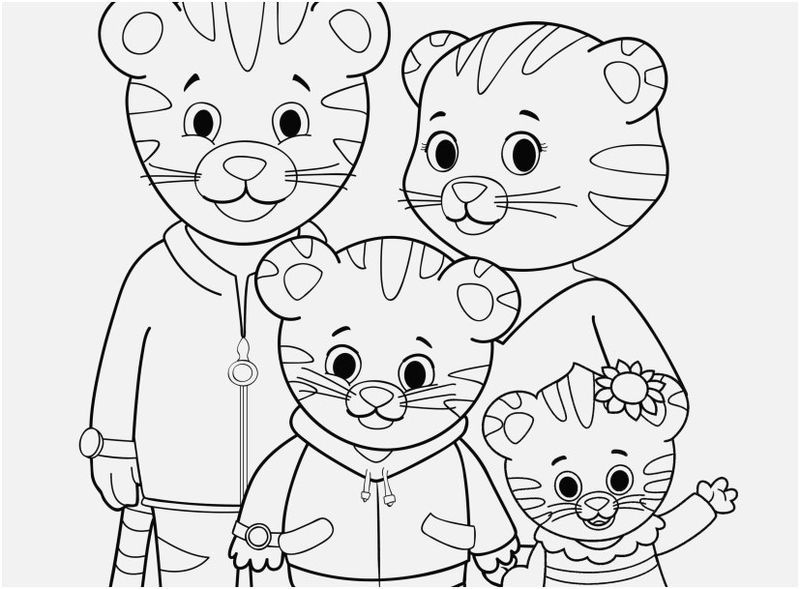Daniel Tiger Coloring Pages Ideas For Kids Daniel Tiger Daniel