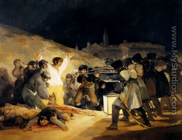 May 3  1808 - Francisco De Goya y Lucientes