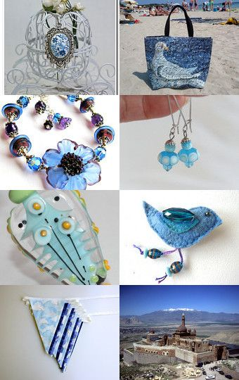 Blue and Aqua Finds by Natasha on Etsy--Pinned with TreasuryPin.com