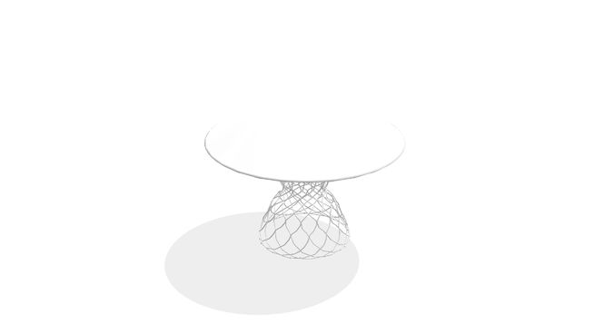 Large Preview Of 3D Model 79577 Side Table Wire Black 2 Set Beistelltisch