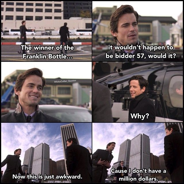 Neal and Keller <3 White Collar Quotes
