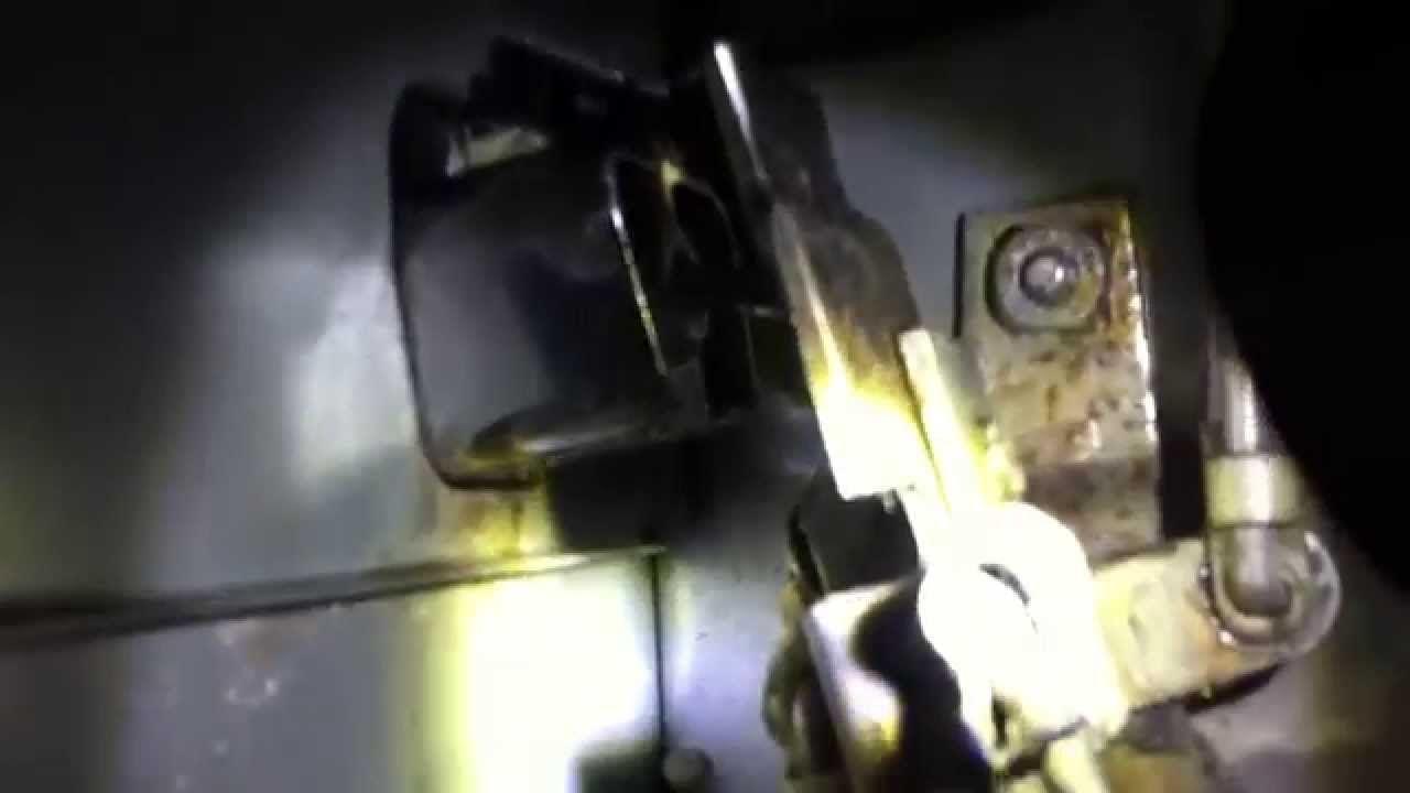 how to fix a sagging door handle