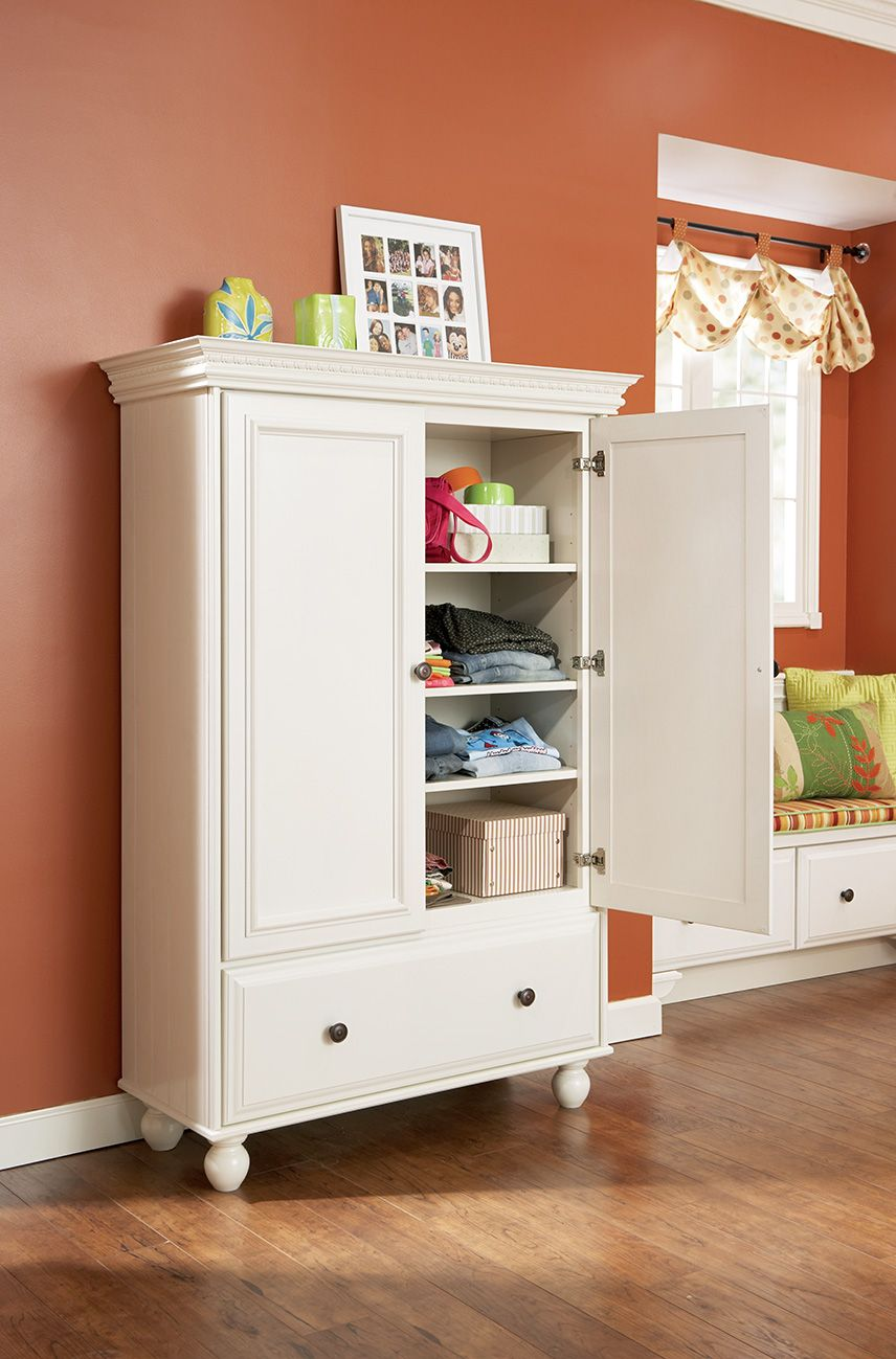Merillat Masterpiece® Sonoma in Maple Canvas - An #armoire is just ...