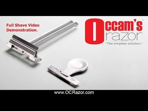 Occam S Razor Simplify Your Shaving By The Blades Grim Occam S Razor Shaving Razor