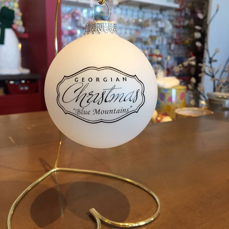 Take home a #GeorgianChristmas #souvenir #ornament to add to your #ChristmasTree! #StockingStuffer  | www.georgianchristmas.ca