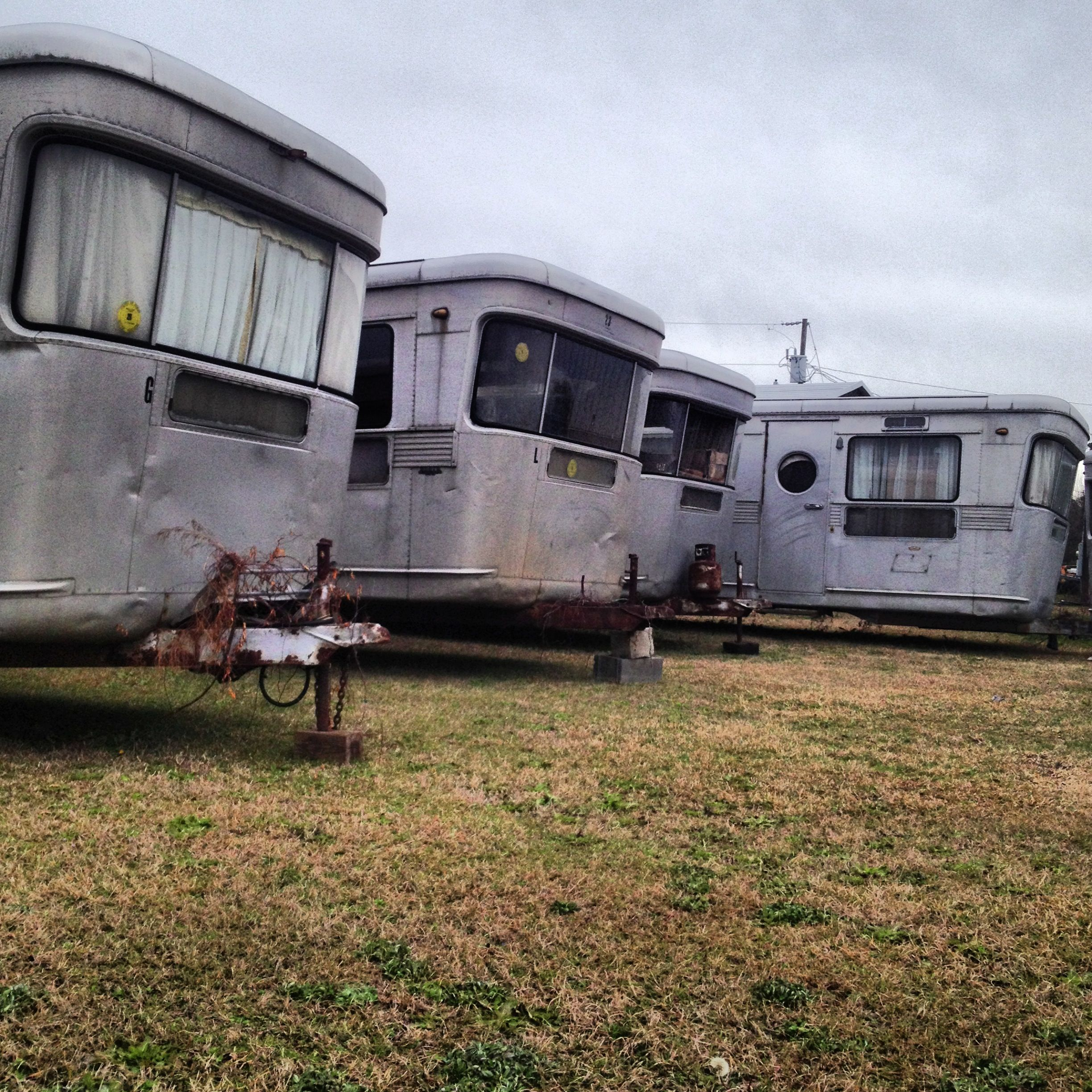 Spartan House Trailers Somewhere In South Carolina